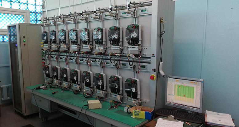 Testing meters in the lab