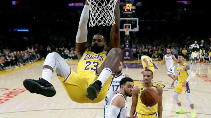 NBA: Los Angeles Lakers - Boston Celtics. Relacja i wynik na żywo