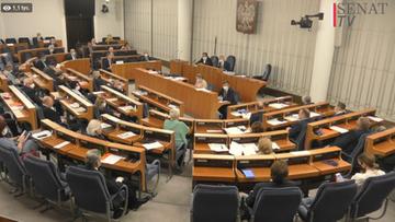 Głosowanie korespondencyjne. Obrady połączonych komisji senackich