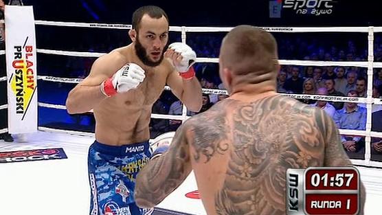 Aslambek Saidov - Rafał Moks - I Extrafight