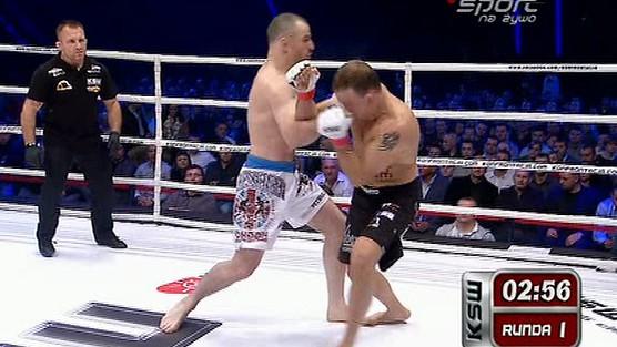 Antoni Chmielewski vs. James Zikic - IV Extrafight